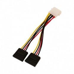 Kabel zasilający LogiLink CS0007 wewnętrzny zasilający Y S ATA 0,15m