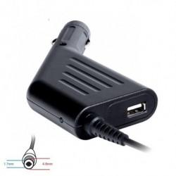 Zasilacz samochodowy do notebooka 18.5V 3.5A 65W 4.8x1.7mm