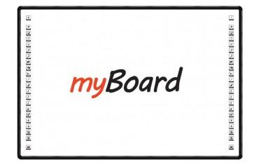 """Tablica interaktywna dotykowa myBoard Black 82"""" ceramiczna"""