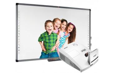 Zestaw interaktywny Avtek TT-BOARD 100 Pro z projektorem ultrakrótkoogniskowym Vivitek D757WT