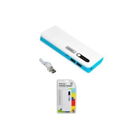 Powerbank MSONIC MY2590WB 13000mAh biało-niebieski
