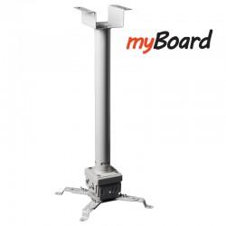 Ekonomiczny uchwyt sufitowy 50-100cm myBoard BS-1.0