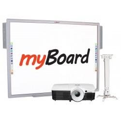 """Zestaw interaktywny SOLID - tablica interaktywna myBoard 84"""" S"""