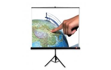 Ekran projekcyjny przenośny 175 cm x 175 cm