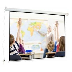 Ekran projekcyjny elektryczny 180 cm x 135 cm Wall Electric 180