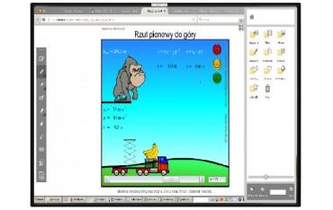 Tablica interaktywna IWB-IB84 84 cale SENSONICS