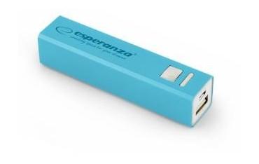 Powerbank Esperanza Erg 2400mAh niebieski