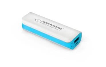 Powerbank Esperanza Joule 2200mAh biało-niebieski