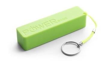 Powerbank Extreme Quark 2000mAh zielony