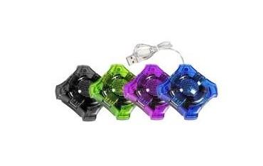 """Hub USB 2.0 Esperanza 4 porty """"Star"""" zielony"""