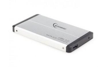 """KIESZEŃ HDD ZEWNĘTRZNA SATA GEMBIRD 2.5"""" USB 3.0 SILVER"""