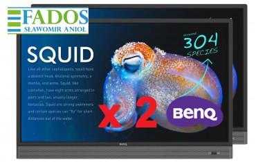 Monitor interaktywny BenQ RP553K 4K 55 cali 0%VAT EDU Aktywna tablica