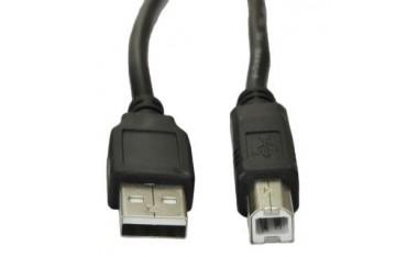 Kabel USB 2.0 Akyga AK-USB-12 USB A(M) - B(M) 3m czarny