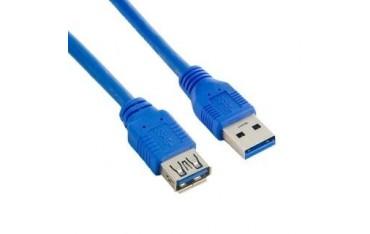 Przedłużacz USB 3.0 Akyga AK-USB-10 USB A(M) - A(F) 1,8m niebieski