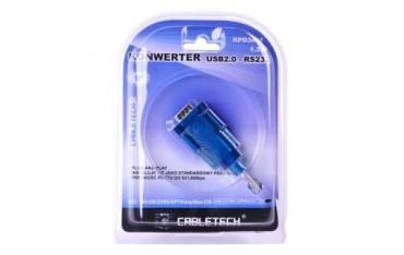 Kabel konwerter Cabletech DB9M USB 2.0 - RS232