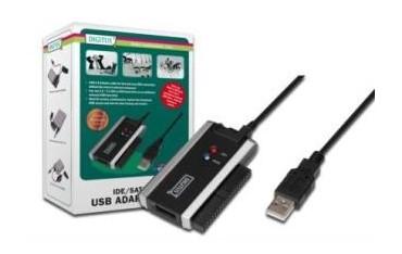 Konwerter Digitus DA-70200-1 USB 2.0 do IDE/SATA