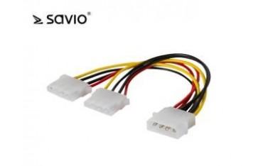 Kabel zasilający Savio AK-09 Molex 0,18m