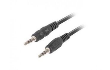 Kabel audio Lanberg stereo minijack - minijack M/M 2m