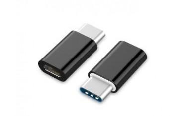 Adapter USB Gembird USB CM-micro BF 2.0 czarny