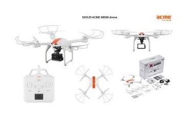 Dron Acme X8500 Payload (z uniwersalnym uchwytem na kamerę sportową)