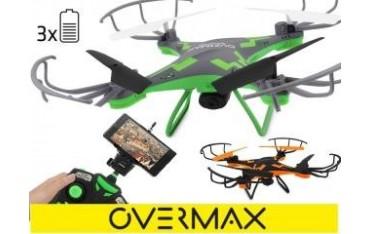 Dron Overmax 3.1 Plus, Wifi Overmax grey/green