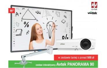 Zestaw Avtek Panorama 90 cali - Aktywna tablica