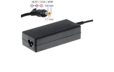 Zasilacz sieciowy Akyga AK-ND-09 do notebooka 18,5V/3,54A 65W 4.8x1.7 mm