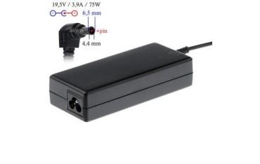 Zasilacz sieciowy Akyga AK-ND-19 do notebooka 19,5V/3,9A 75W 6.5x4.4 mm + pin