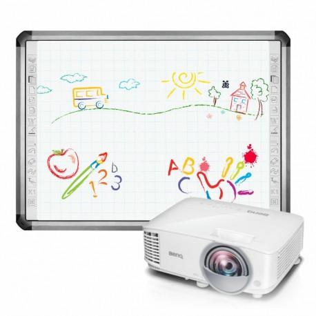 Zestaw interaktywny Newline TruBoard R5-800L + BenQ MX808ST