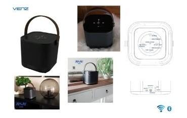 Głośnik bezprzewodowy Venz sieciowy Wi-Fi Multiroom z Bluetooth