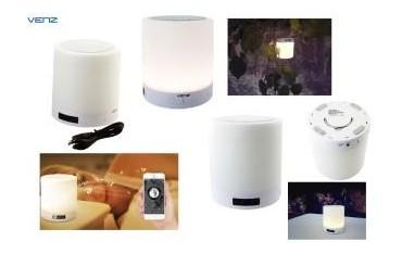 Głośnik bezprzewodowy Venz sieciowy Wi-Fi Multiroom z lampką LED