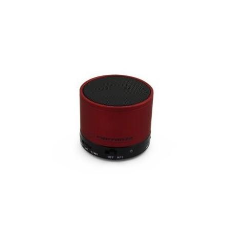Głośnik Bluetooth Esperanza Ritmo Czerwony EP115C