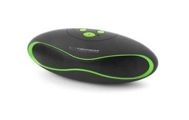 """Głośnik Bluetooth Esperanza """"Trival"""" czarno-zielony"""
