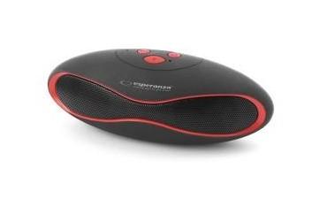 """Głośnik Bluetooth Esperanza """"Trival"""" czarno-czerwony"""