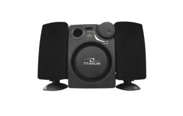 Głośniki 2.1 Titanum Alzando USB czarny