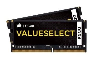 Pamięć DDR4 SODIMM Corsair Valueselect 32GB (2x16GB) 2133MHz CL15 1,2V