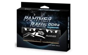 Pamięć DDR4 Apacer Panther Rage Illumination LED 16GB (1x16GB) 2400MHz CL16 1,2V