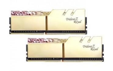 Pamięć DDR4 G.Skill Trident Z Royal Gold RGB 16GB (2x8GB) 3200MHz CL14 1,35V XMP 2.0 Podświetlenie LED