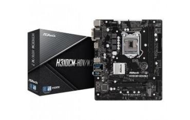 Płyta ASRock H310CM-HDV/M.2 /H310/DDR4/SATA3/M.2/USB3.1/PCIe3.0/s.1151/mATX