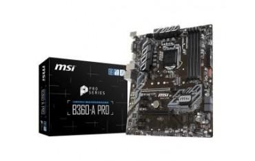 Płyta MSI B360-A PRO/B360/DDR4/SATA3/M.2/USB3.1/PCIe3.0/s.1151/ATX