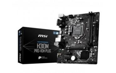 Płyta MSI H310M PRO-VDH PLUS/H310/DDR4/SATA3/USB3.0/PCIe3.0/s.1151/mATX