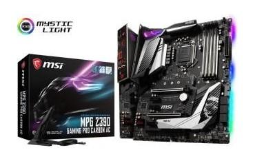 Płyta MSI MPG Z390 GAMING PRO CARBON AC /Z390/DDR4/SATA3/M.2/USB3.1/WF/BT/PCIe3.0/s.1151/ATX