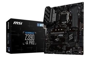 Płyta MSI Z390-A PRO /Z390/DDR4/SATA3/M.2/USB3.1/PCIe3.0/s.1151/ATX