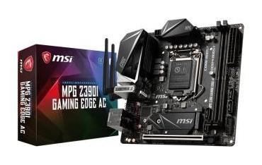 Płyta MSI MPG Z390I GAMING EDGE AC /Z390/DDR4/SATA3/M.2/USB3.1/WF/BT/PCIe3.0/s.1151/mITX