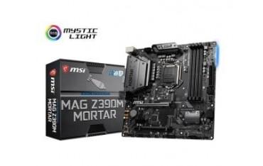 Płyta MSI MAG Z390M MORTAR /Z390/DDR4/SATA3/M.2/USB3.1/PCIe3.0/s.1151/mATX