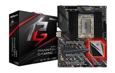 Płyta ASRock X399 PHANTOM Gaming 6/AMD X399/DDR4/SATA3/M.2/USB3.1/PCIe3.0/AM4/ATX