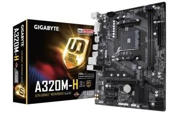 Płyta Gigabyte GA-A320M-H /AMD A320/DDR4/SATA3/USB3.0/PCIe3.0/AM4/mATX