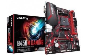 Płyta Gigabyte B450M GAMING/AMD B450/DDR4/SATA3/M.2/USB3.1/PCIe3.0/AM4/mATX