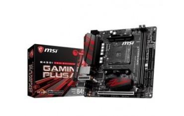 Płyta MSI B450I GAMING PLUS AC /AMD B450/DDR4/SATA3/M.2/USB3.1/WF/BT/PCIe3.0/AM4/mITX