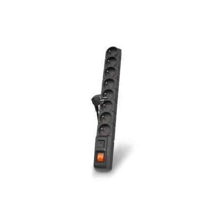 Listwa zasilająca Acar S8 5m czarna automat